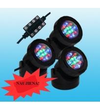 Prožektoriai LED 3x1.5 W