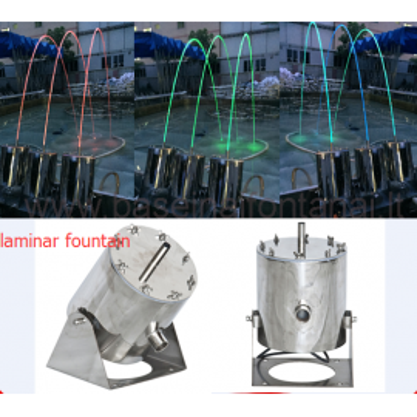 Šokinėjantis fontanas Laminat Jet