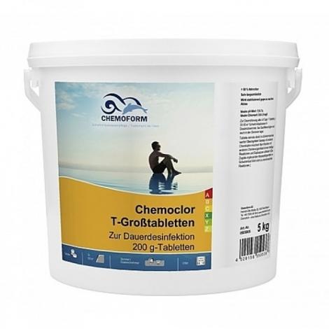 Chloras lėto tirpimo 5 kg, 200 gr