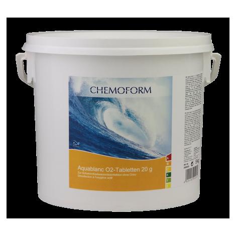 Aktyvaus deguonies tabletės 5 kg, 20 gr