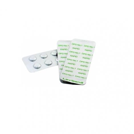 Chlorui testavimo tabletės DPD1, 10 vnt.