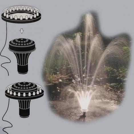 "Purkštukas LED-Jet Vulcano 1"""