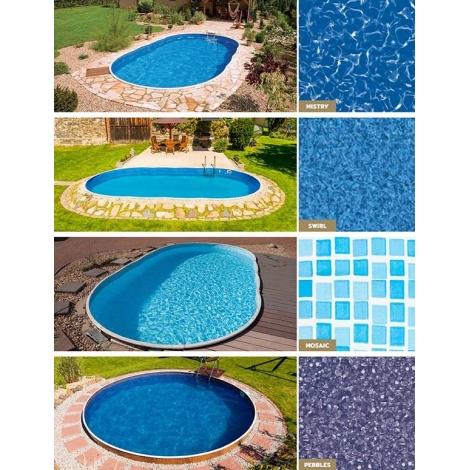 Plėvelė baseinui 6,4X1,2m