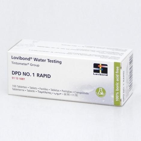 Chlorui testavimo tabletės DPD1, 500 vnt.