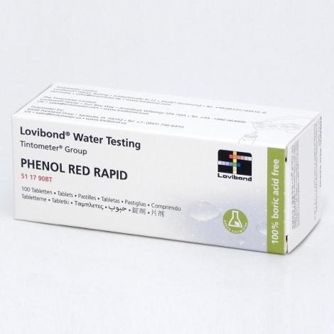 PH testavimo tabletės RED, 500 vnt.