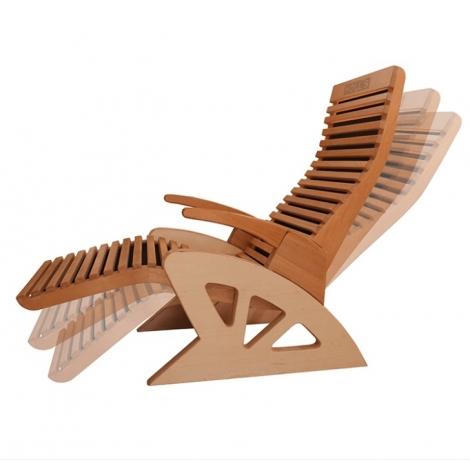 "Infraraudonųjų spindulių fotelis ""Comfort Ideal Wood"""
