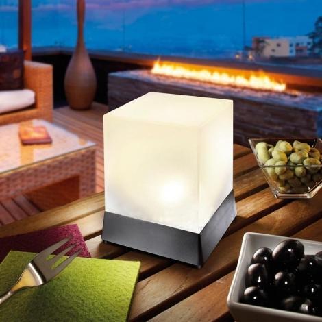 Esotec  LED dekoratyvinis kubas, nuo saulės energijos